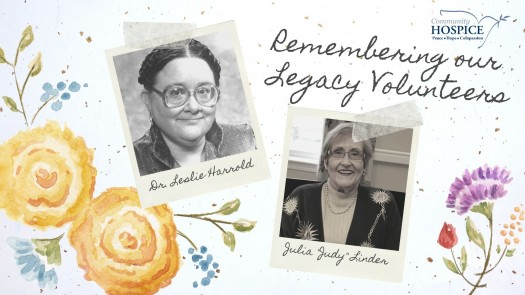 Remembering Dr. Leslie Harrold and Judy Linder